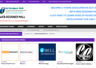 Web Designer Mall