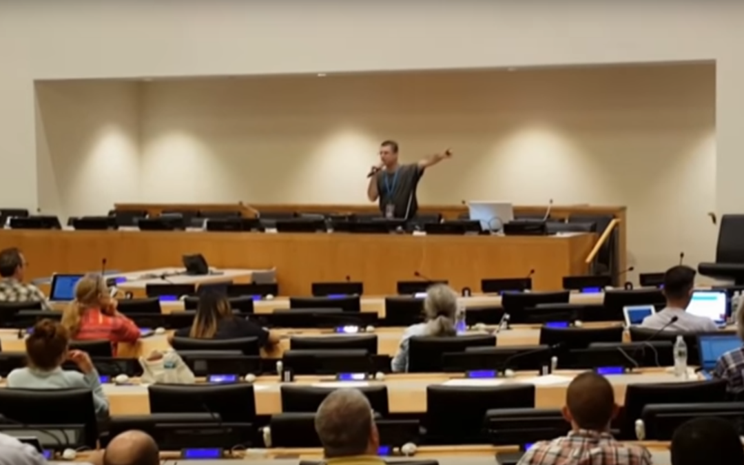 44 Seconds of My 45-Minute Presentation Speaking At The United Nations in New York City in 2016