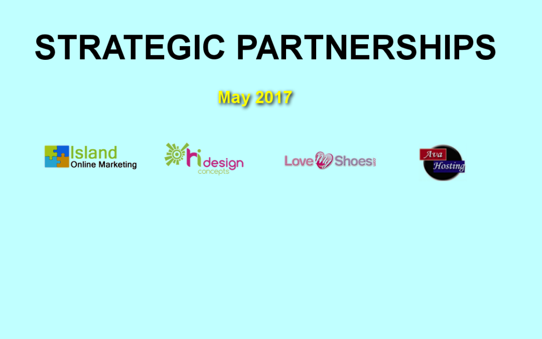 Recap of My Strategic Partnerships in the Web Design and Development Field for May 2017