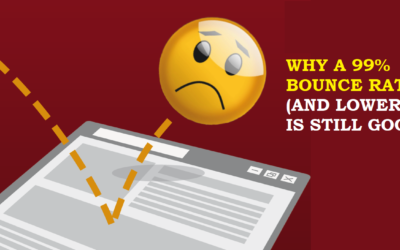 Why a 99% Google Analytics (and any percent lower) Bounce Rate Is Still Good